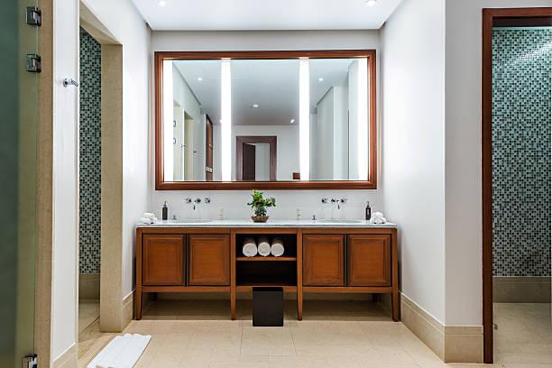 Toiletkast met spiegel