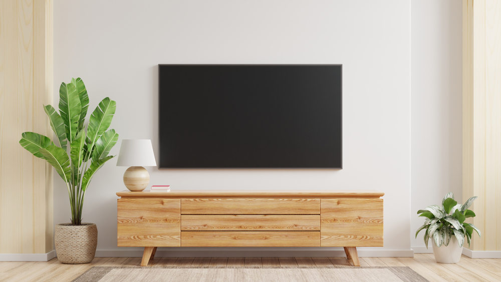eiken tv-meubel